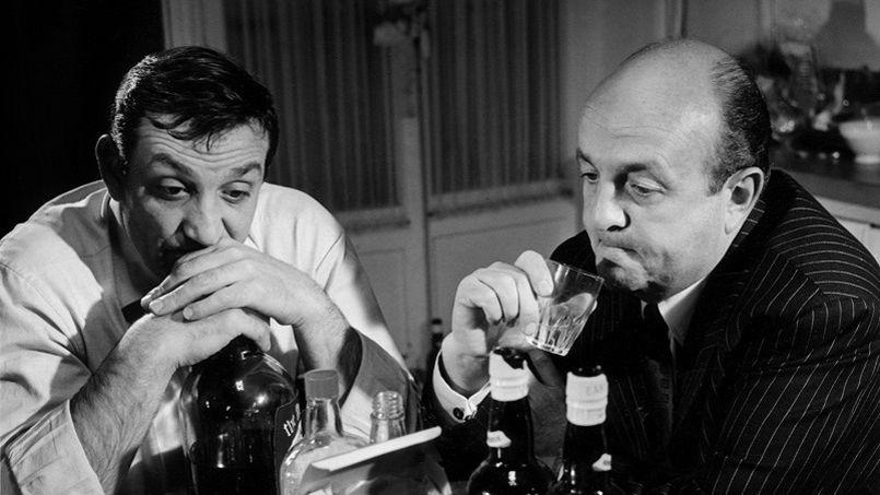 Les tontons flingueurs de GeorgesLautner avec Lino Ventura et Bernard Blier 1963